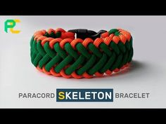 Paracord Bracelet Skeleton Tutorial - YouTube