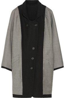 Band of Outsiders Reversible wool-blend coat | NET-A-PORTER