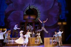 An American In Paris at the Palace Theatre. scenic and costume designer Bob Crowley, lighting designer Natasha Katz, sound designer Jon Weston, and projection design by 59 Productions. Nominated for 12 Tony Awards http://livedesignonline.com/theatre/american-paris-hit#slide-0-field_images-118131