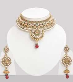 Polki Jewellery Online India #choker #hennaheels