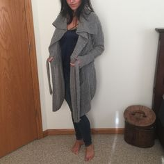 LUCKY BRAND Gorgeous Long CardiganComfyCozy 65% Wool; 35% PolyesterModel5'8 Lucky Brand Sweaters Cardigans