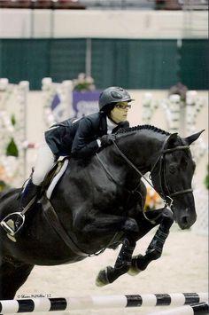Miranda & her horse Rosso