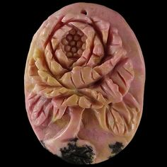 BB08802   Gorgeous 100% Natural Hand Carved  Cameo by Artiststone