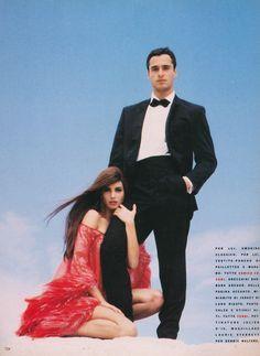 "Vogue Italia September 1990 ""Omaggio a 007"" Model: Christy Turlington Photographer: Ellen von Unwerth"