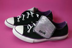 vintage Chuck Taylor ALL STAR Converse shoes with by surlymermaid, $24.99