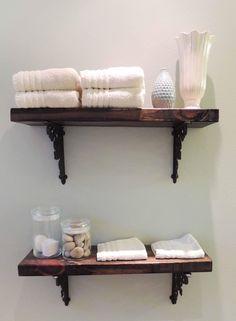 Bathroom Wall Shelves and Storage