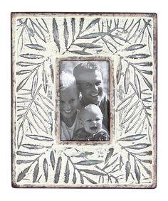 4'' x 6'' Metal Leaf Frame by Foreside #zulily #zulilyfinds