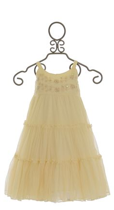 Mimi and Maggie Ivory Party Dress for Girls