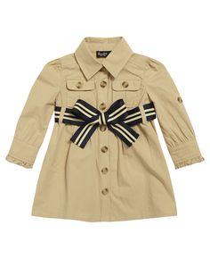Baby Girl's Safari Dress - Bardot Junior