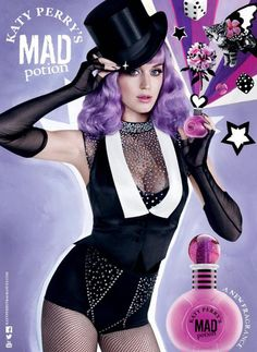 Katy Perry Mad Potion campaign ad