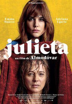 """O novo filme de Pedro Almodovar, """"Julieta"""", centra-se numa filha que corta relações com a mãe. O silêncio nem sempre é sinónimo de indiferença - mas pode ser fatal. - Estreia em Portugal prevista para setembro de 2016"""
