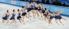 Olympics, frame by frame...
