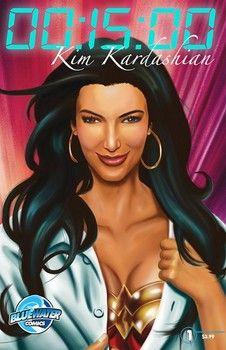 Kim Kardashian is the subject of a Comic Book