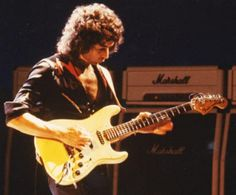 First came the Fender Telecaster, the first solid body electric guitar to become widely successful, and then came the very different Gibson Les Paul. The third guitar to become mass produced and famous was the Fender Stratocaster, but without the help of these musicians, it wouldn't have become the icon electric guitar that it is today.