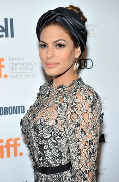 If You Love Headbands . . . : Eva Mendes at The Place Beyond the Pines premiere in Toronto.