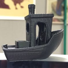 Our first @3dbenchy printed on the @beeverycreative machine! Came out very nice with no raft or supports! Set at medium quality and printed in our graphite black PLA.  #filamentexpress #filkemp #pla #3dprintmasterpro #filament #3dprint #3dprinter #3dprinted #3dprinting #3dmodel #3dmodeling #print #printedsolid #model #makers #create #tech #graphiteblack #benchy #3dbenchy #boat #black