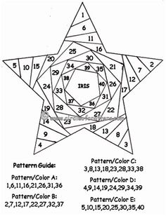 Image result for iris folding patterns free printables