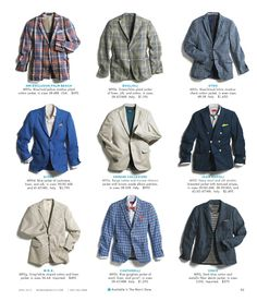 Nothing sexier than a guy in a sport coat or blazer.