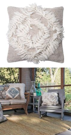 With its stunning design, this throw pillow will make the perfect addition to…