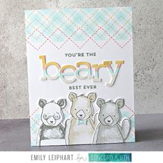 {Concord & May 2019 Feature Friday: Simple Serif Alphabet (Art♥from♥the♥Heart) Alphabet Stamps, Alphabet Art, Die Cut Letters, Concord And 9th, Stamping Tools, Glitter Cardstock, We Bare Bears, Serif, Cool Cards