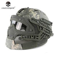Emerson G4 System PJ Helmet With Full Mask(ACU)
