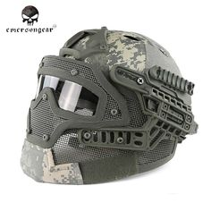 Emerson G4 System PJ Helmet With Full Mask(ACU)