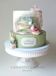 Beatrix Potter cake, so lovely