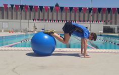 Becoming a faster swimmer isn& just about adding more laps in the pool. Training outside of the water is arguably just as important, and these moves can help you improve. Swimming Drills, Competitive Swimming, Swimming Exercises, Swim Training, Triathlon Training, Training Workouts, Swimming World, Kids Swimming, Workouts For Swimmers