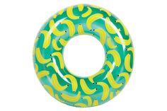 Uppblåsbar Badring - Coola bananer