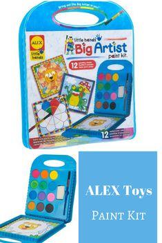 ALEX Toys Little Hands BIG Artist Series Paint Kit #ad