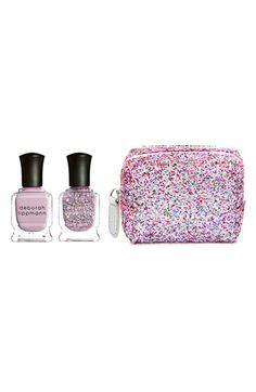 Deborah Lippmann 'Two of Hearts' Mini Nail Color Duet (Limited Edition) ($24 Value) available at #Nordstrom