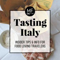 Italian Food + Travel