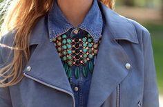 Les gros colliers - Statement necklaces - L' univers de VanessaD