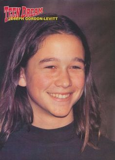 JOSEPH GORDON LEVITT~ when he was a kid. adorable!