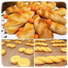 Greek Recipes, Pretzel Bites, Sausage, Biscuits, Easter, Sweets, Bread, Cookies, Ethnic Recipes