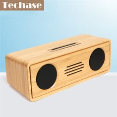 >> Click to Buy << Techase Bamboo Bluetooth Speaker Portable Soundbar Wireless Speakers Subwoofer MP3 Music Altavoces Mini Caixa De Som Bluetooth #Affiliate
