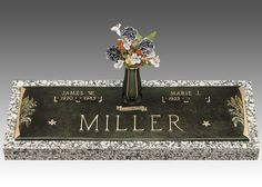 With our Companion Bronze Grave Markers, you can memorialize your loved one forever.
