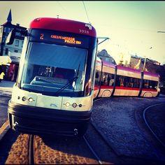 Take a tour in #PESA #tram? Gdansk.