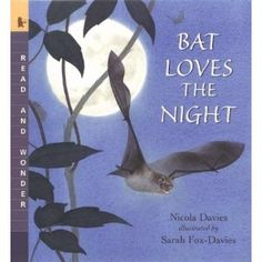 Gentle story about the life of a bat; interesting bat facts in smaller print throughout the story.