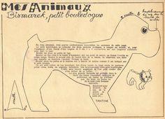 Старинные выкройки животных. Обсуждение на LiveInternet - Российский Сервис…
