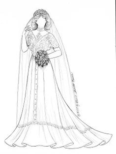 1267 best i sew do images on pinterest vintage bridal Vintage 1970s Wedding Gowns 49745572 1970s5 victorian bride gown pattern paper dolls printable paper fashion colored paper