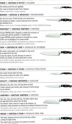 M-J's Elegant Cuisine: Kitchen Knife Use Guide