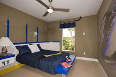 Hockey Room - eclectic - kids - tampa - by Cardel Designs