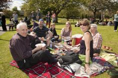 The Big Lunch in Dalkeith, Scotland!