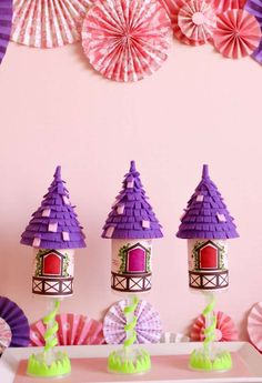 Rapunzel/ Tangled/ Princess Birthday Party Ideas | Photo 1 of 42 | Catch My Party