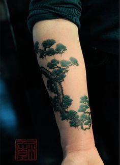 29 Tree Forearm Tattoo