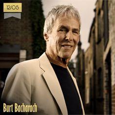 12 de mayo | Burt Bacharach - @burt_bach | Info + vídeos