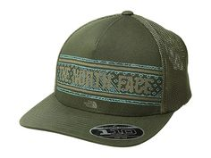 The North Face Keep It Structured Trucker Hat (Four Leaf Clover) Caps. The bde221d683d0