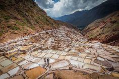 Zoutmijn van Maras. ( Cusco provincie)