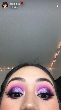 "Isabellaxchavez History of eye makeup ""Eye care"", put simply, ""eye make-up"" happens Purple Eye Makeup, Colorful Eye Makeup, Skin Makeup, Eyeshadow Makeup, Purple Eyeshadow Looks, Purple Makeup Looks, Eyeshadows, Makeup Brushes, Flawless Makeup"